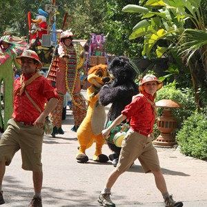31 of 48: Mickey's Jammin' Jungle Parade - Mickey's Jammin' Jungle Parade