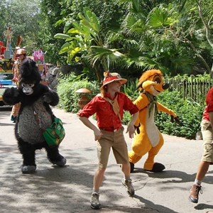 32 of 48: Mickey's Jammin' Jungle Parade - Mickey's Jammin' Jungle Parade