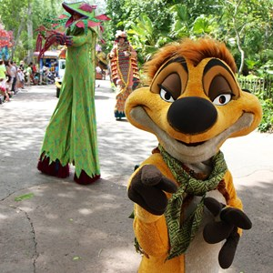 33 of 48: Mickey's Jammin' Jungle Parade - Mickey's Jammin' Jungle Parade