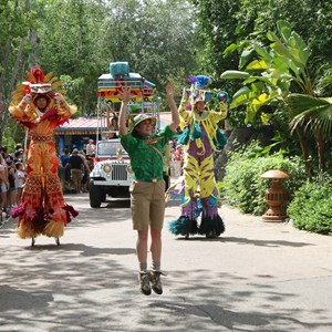 41 of 48: Mickey's Jammin' Jungle Parade - Mickey's Jammin' Jungle Parade