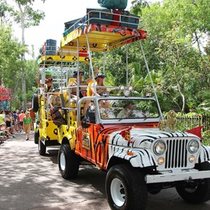 44 of 48: Mickey's Jammin' Jungle Parade - Mickey's Jammin' Jungle Parade
