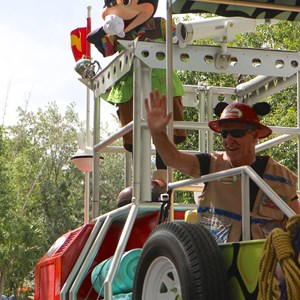 46 of 48: Mickey's Jammin' Jungle Parade - Mickey's Jammin' Jungle Parade