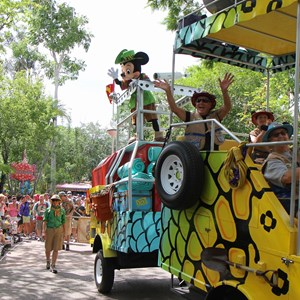 47 of 48: Mickey's Jammin' Jungle Parade - Mickey's Jammin' Jungle Parade