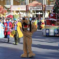 Mickey's Once Upon a Christmastime Parade 2009