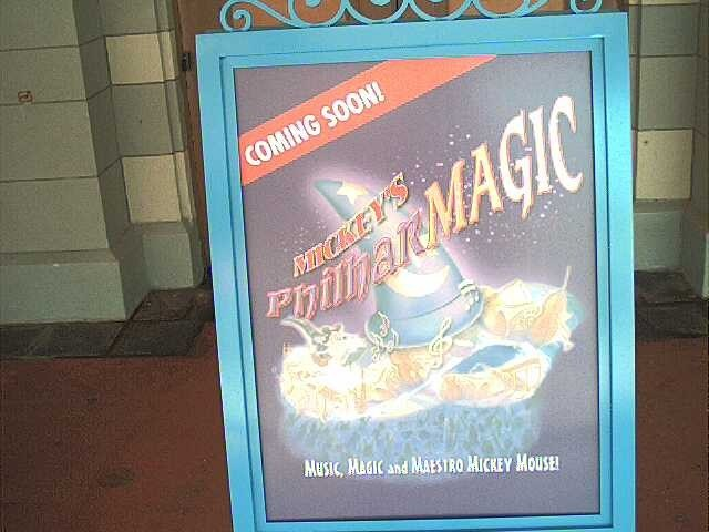 New Philharmagic sign outside the former Legend of the Lion King location