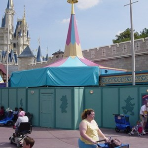 1 of 2: Mickey's Philharmagic - Latest Philharmagic construction