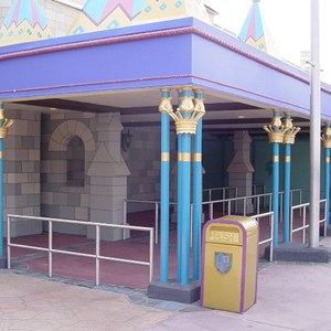 2 of 2: Mickey's Philharmagic - Latest Philharmagic construction