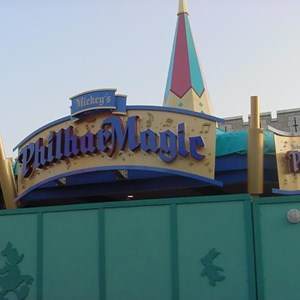 1 of 4: Mickey's Philharmagic - Latest Philharmagic construction