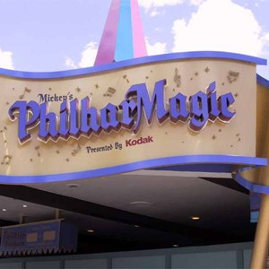 2 of 6: Mickey's Philharmagic - Latest Philharmagic construction