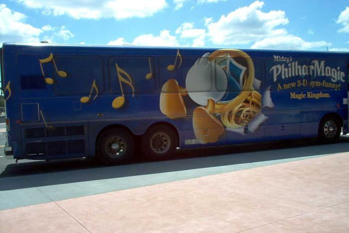 PhilharMagic wrapped bus