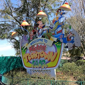 1 of 22: Mickey's Toontown Fair - Overview of Mickey's Toontown Fair