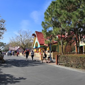 13 of 22: Mickey's Toontown Fair - Overview of Mickey's Toontown Fair