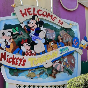 15 of 22: Mickey's Toontown Fair - Overview of Mickey's Toontown Fair