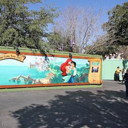 Walled off Toontown Fair