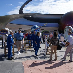 28 of 43: Mission: SPACE - NASA astronaut visit