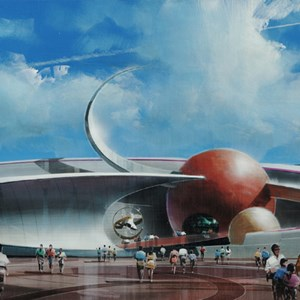 1 of 2: Mission: SPACE - Concept art and logo revealed