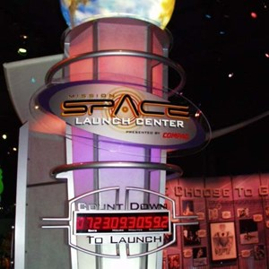 1 of 7: Mission: SPACE - New preview area at Innoventions