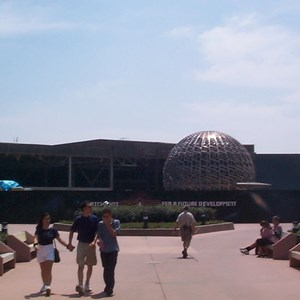 1 of 2: Mission: SPACE - Latest construction