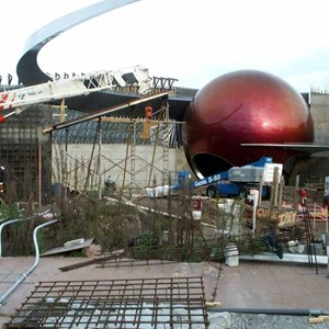 4 of 6: Mission: SPACE - Latest construction