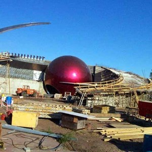 2 of 4: Mission: SPACE - Latest construction