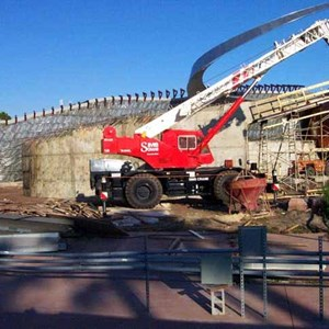 4 of 4: Mission: SPACE - Latest construction