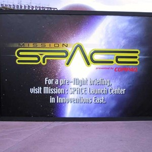 3 of 7: Mission: SPACE - Latest construction
