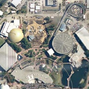 1 of 1: Mission: SPACE - Satellite image of construction area