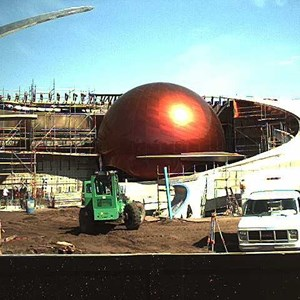 3 of 4: Mission: SPACE - Latest construction