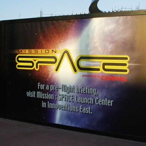 2 of 9: Mission: SPACE - Latest construction