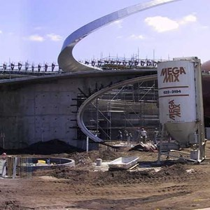 1 of 1: Mission: SPACE - Panoramic construction image
