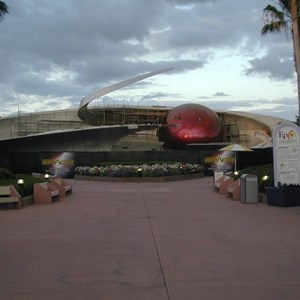 1 of 4: Mission: SPACE - Latest construction