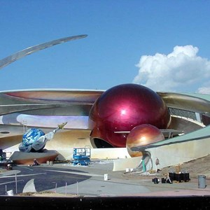 1 of 1: Mission: SPACE - Latest construction