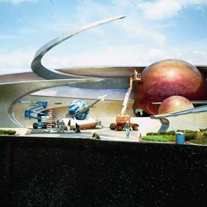 3 of 5: Mission: SPACE - Latest construction