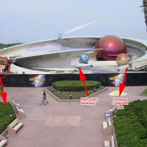 1 of 3: Mission: SPACE - Line layout and guest flow