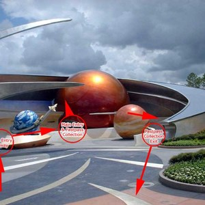 3 of 3: Mission: SPACE - Line layout and guest flow