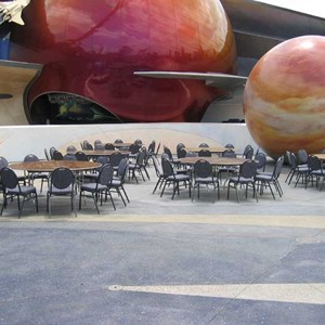 1 of 5: Mission: SPACE - Private lunch event infront of the pavilion