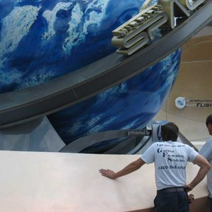 3 of 5: Mission: SPACE - Private lunch event infront of the pavilion