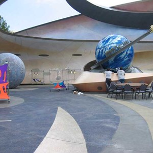 4 of 5: Mission: SPACE - Private lunch event infront of the pavilion