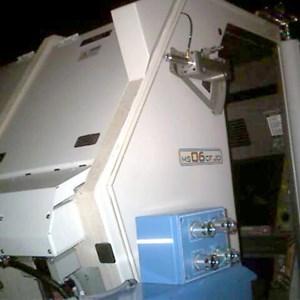 1 of 2: Mission: SPACE - Ride capsule interior