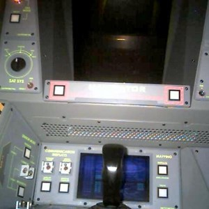 2 of 2: Mission: SPACE - Ride capsule interior