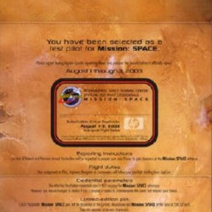 1 of 3: Mission: SPACE - Annual Passholder preview invitations