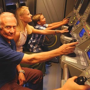 1 of 1: Mission: SPACE - Buzz Aldrin at Mission Space