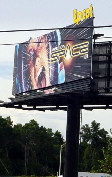 Advertising billboards