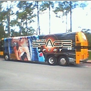 1 of 1: Mission: SPACE - Mission Space bus wrap
