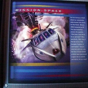 9 of 14: Mission: SPACE - Mission Space Grand Opening press pack