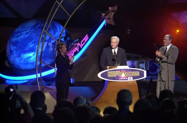 Mission: SPACE - Michael Eisner and NASA officials dedicate Mission SPACE.