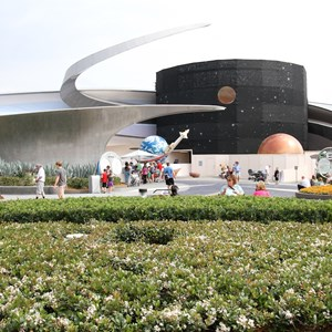 1 of 3: Mission: SPACE - Mission SPACE exterior refurbishment