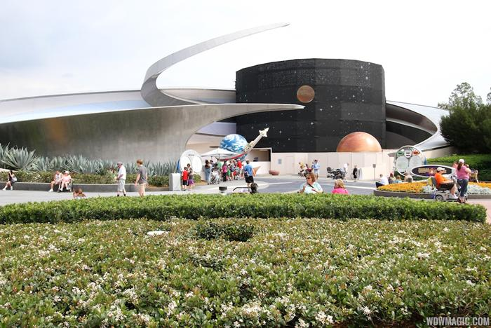Mission SPACE exterior refurbishment