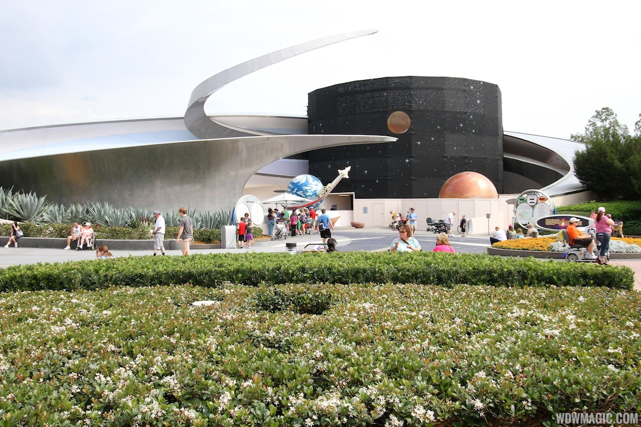 Mission SPACE exterior refurbishment