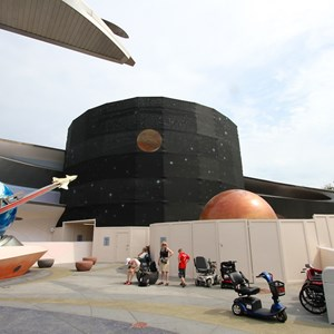 2 of 3: Mission: SPACE - Mission SPACE exterior refurbishment